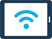 Wifi Signal on Tablet Icon