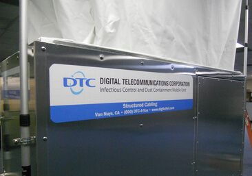 DTC Infectious Control and Dust Containment Mobile Unit