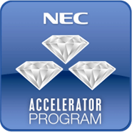 NEC Accelerator Program Logo